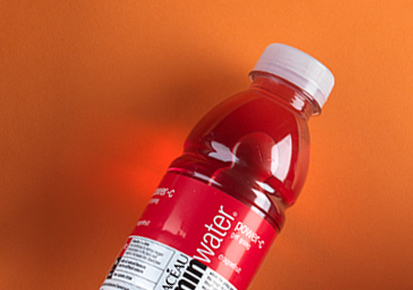 Bottle of Glaceau Vitamin Water Power-C