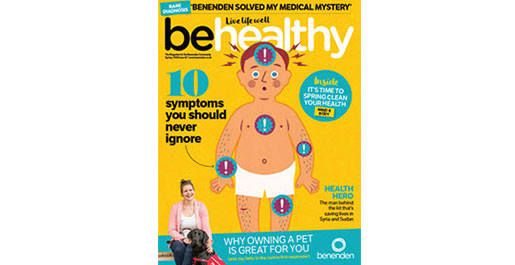 Behealthy Autumn Front Cover 2017