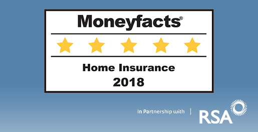 Moneyfacts 5 star rated Essential home insurance
