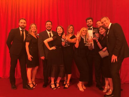 Benenden Health collect marketing awards